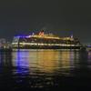 神戸港にやってきたクイーンエリザベス号を撮影!良いミニ三脚が欲しいなあ