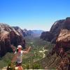 《アメリカ》グランドサークル 壮大な岩山と渓谷 ザイオン国立公園のトレッキング情報