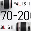 Canon EF70-200mm F4L IS II USM登場!〜神機初代との違いはいかに?〜
