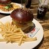 【レストラン】でっかいハンバーガー食べた!