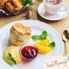 フープロで簡単!サクッふわ~なシナモンスコーンでほっこり~な朝食セット