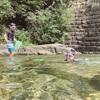 滋賀県のおすすめ川遊びスポット「オランダ堰堤」。川遊びの様子や駐車場をレポします!