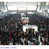 春節の中国は、やはり混雑していた