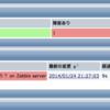 Zabbix:mongodを監視して落ちたら自動再起動するアクションを設定する