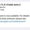 iOS11.4.1 Public Beta3がリリース