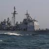 米ミサイル巡洋艦「レイク・シャンプレイン」、韓国の漁船と衝突