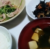 豚肉と豆苗の炒め煮