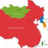 「東アジア地図←東側を上にすると中国人の気持ちが理解できる」