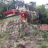 神倉神社のゴトビキ岩。
