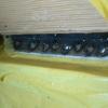 1971 マスタングマッハ1 左クォーターパネル溶接2 クォーターポストとルーフ