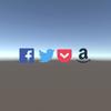 【Unity】uGUI のテキストで「Font Awesome」のアイコンを表示する方法