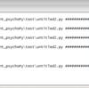 【PsychoPy】Galileo2(Arduino)とシリアル通信をしてみる。(coder編)