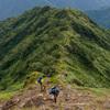 夏の谷川岳・西黒尾根を登って天神尾根から下山する日帰り山行