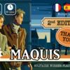【Kickstarter】2月最初の海外ボドゲはなかなか渋めな作品が気になるぜ。Maquisのリプリントプロジェクトが始まったよ!〈気になるKickstarterピックアップ2021年2月前編〉
