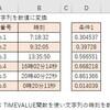 【エクセル】TIMEVALUE関数の使い方