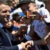 マクロン新党6割獲得、仏下院選で勝利 仏メディア速報