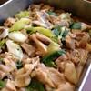 鶏とドロつきネギのトロトロ煮
