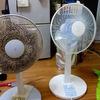 無職の夏。扇風機でなんとか乗り切る。