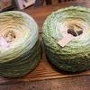 手編みのストール
