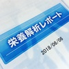 【352】180625☆栄養解析レポート1回目