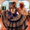 ホテルモンテアルバンで、ゲラゲッツァの踊り鑑賞