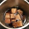 1.5kのバラ肉ブロックで豚の角煮を作った。