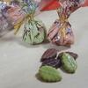 小さな葉っぱのチョコ。