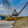 【建設機械】木更津港で見つけたSKKとKawasakiの共同作業【マリーンクレーン】【ホイールローダ】