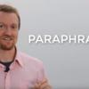 【動画】アカデミックライティングに欠かせない!Paraphrasingテクニックとは?