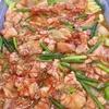 豚バラとにんにくの芽炒め煮