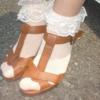 フリフリ靴下の女の子とは一緒に歩けない