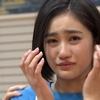 佐々木莉佳子の泣き顔