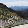 山奥の美しい景観 泉谷棚田