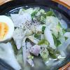 6月4日(金)昼食のタンメンと、夕食の餃子。