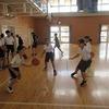 部活動再開 バスケットボール部女子