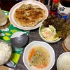 適当飯!餃子、ポテトサラダ、中華スープ〜フライパンをひっくり返す時に緊張が走る〜