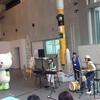 「テクノくん えかきうた」ペロさんとノリノリ!ミニコンサート。