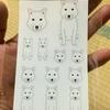 紀州犬シール