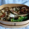 29冊目『有元葉子の「和」のお弁当』から最終回は玄米チャーハン弁当