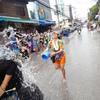 3度目のタイ1日目〜チェンマイ到着。水かけ祭の洗礼を受ける。。〜 世界一周296日目★後編