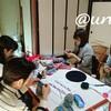 レッスンレポート)12/9 五日市教室 Opal毛糸で靴下を編んでみませんか