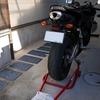 オイル交換祭り CBR600RR編 & フロントスプロケ掃除 (と、続・電熱グローブ インプレ)