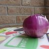 辛くないよ、紫玉ねぎのスライス