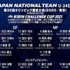 【五輪日本代表メンバー発表】東京オリンピックサッカー男子日本代表最終メンバー18名+バックアップメンバー4名発表&五輪代表スケジュール(東京五輪世代の過去の大会でのメンバー遍歴と、五輪に関するブログ記事集)