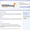 WiiリモコンでMacを操作する『WiiMouse』を使ってみた