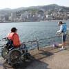 伊豆のバリアフリー情報(遊ぶ:No.33 熱海海釣り施設)