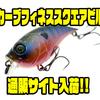 【6th Sense Custom Lure Company】カーブ55のシャローモデル「カーブ フィネススクエアビル」通販サイト入荷!