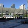 東京旅行一日目(1)。丸の内から皇居前広場へ。旅の安全をお祈り