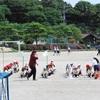 徒競走の練習 4年生