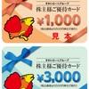 5-6月優待クロス 100万円でチャレンジ。
